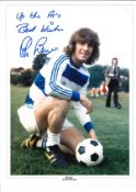 Stan Bowles QPR Signed 16 x 12 inch football photo. This item is from the stock of www.