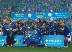 Claudio Ranieri Leicester City Signed 16 x 12 inch football photo. This item is from the stock of