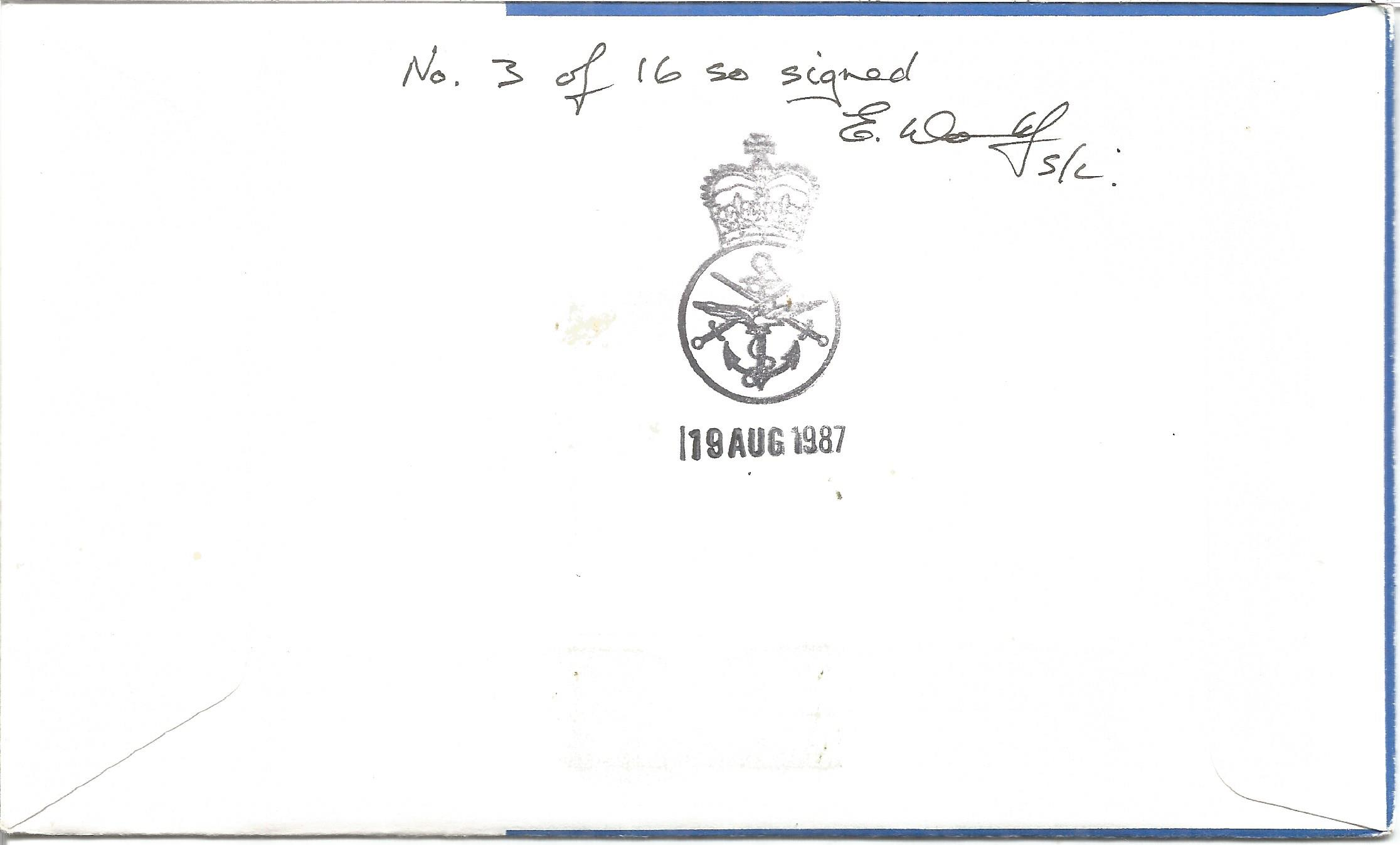 WW2 resistance VIPS multiple signed cover. Inc Dedee, Michou Ugeux. Tanto Go, Mjr D Henderson GM, - Image 2 of 2