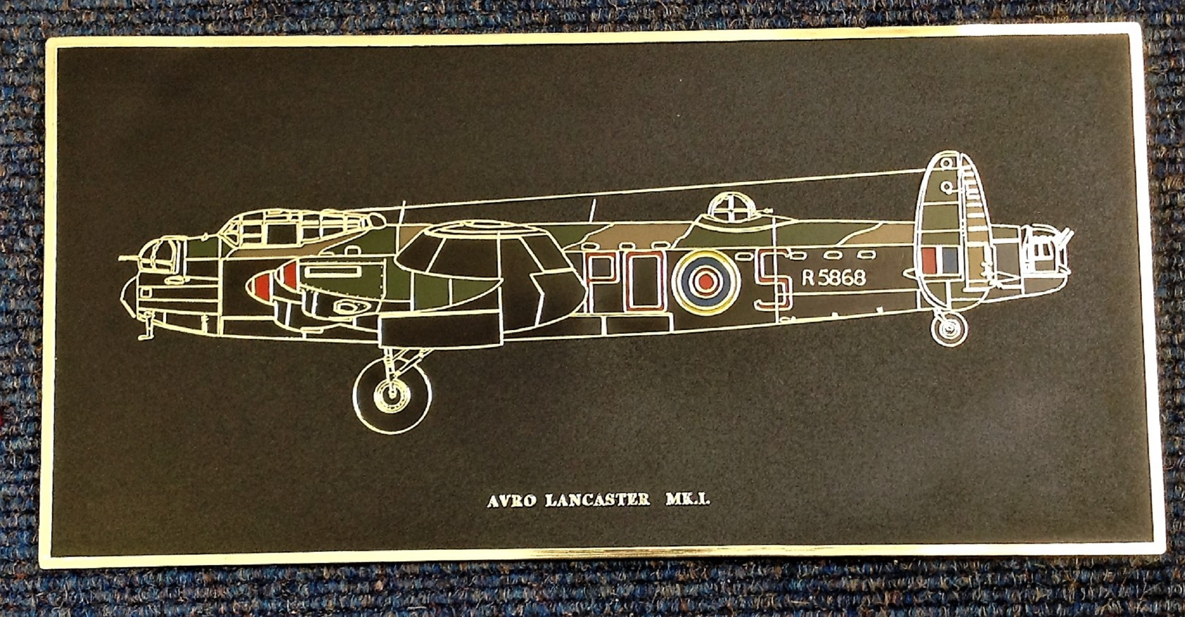 World War II signed Lancaster hardback book by the author John Nichol includes 27 Bomber command