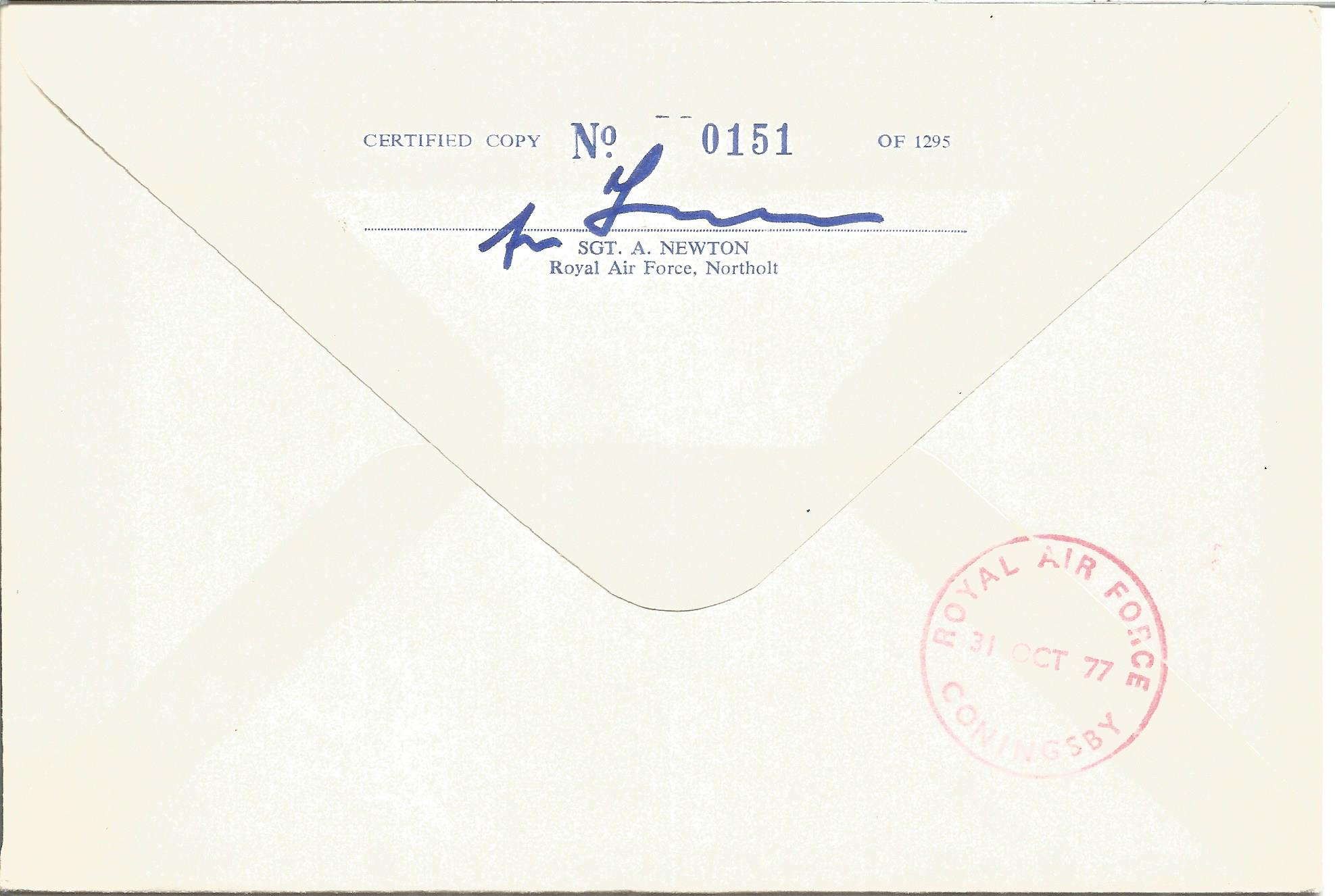 Group Captain Sir Douglas Bader CBE DSO DFC signed Douglas Bader cover No. 151 of 1295. Flown in the - Image 2 of 2