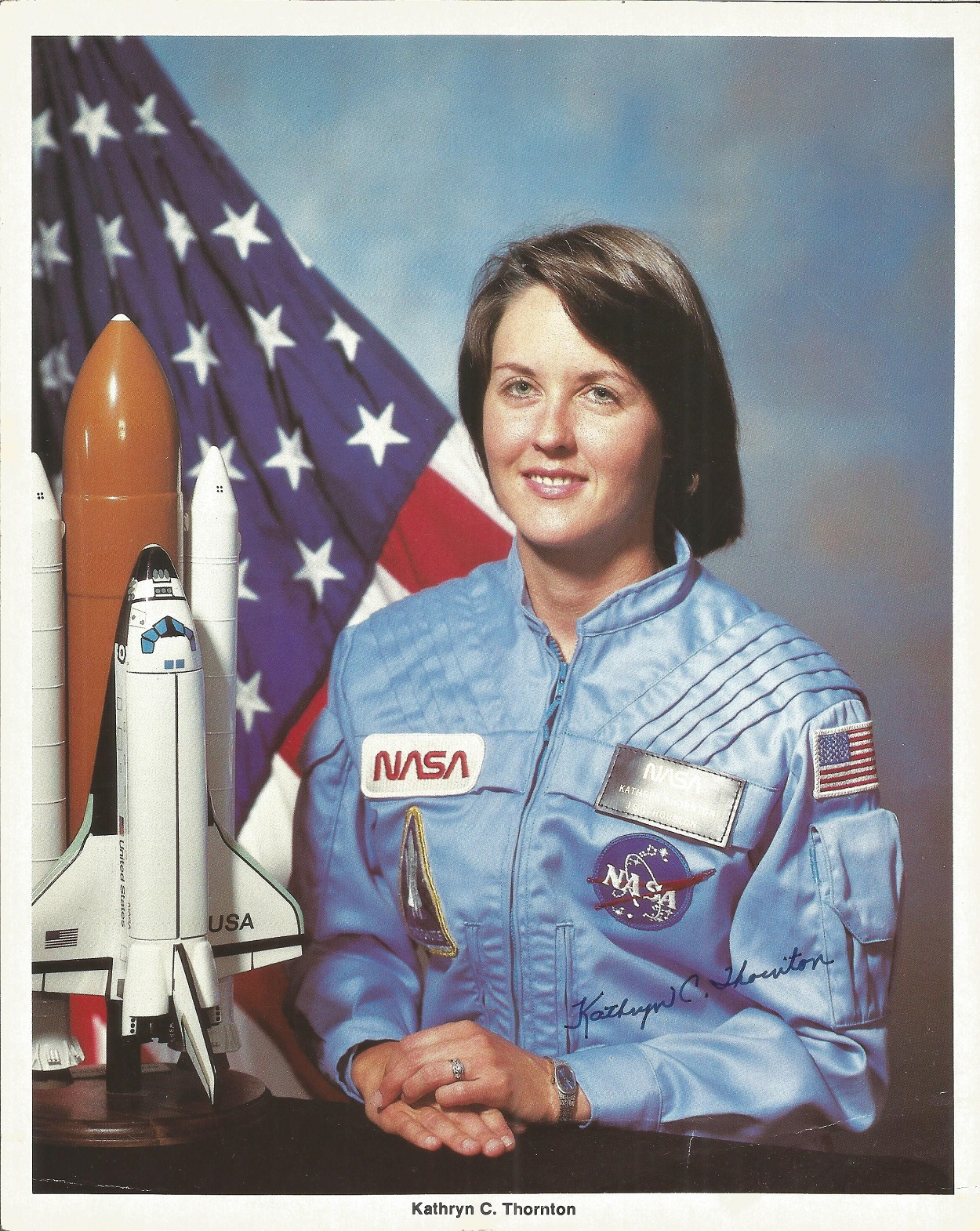 NASA collection 13 autopen machine generated autographs on colour photos includes Neil Armstrong - Image 4 of 6