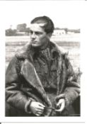 WW2 BOB fighter ace Flight Lieutenant D. Bell Salter of 253 Squadron signed 5 x 3 b w photo. Good