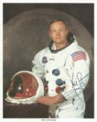 NASA collection 13 autopen machine generated autographs on colour photos includes Neil Armstrong