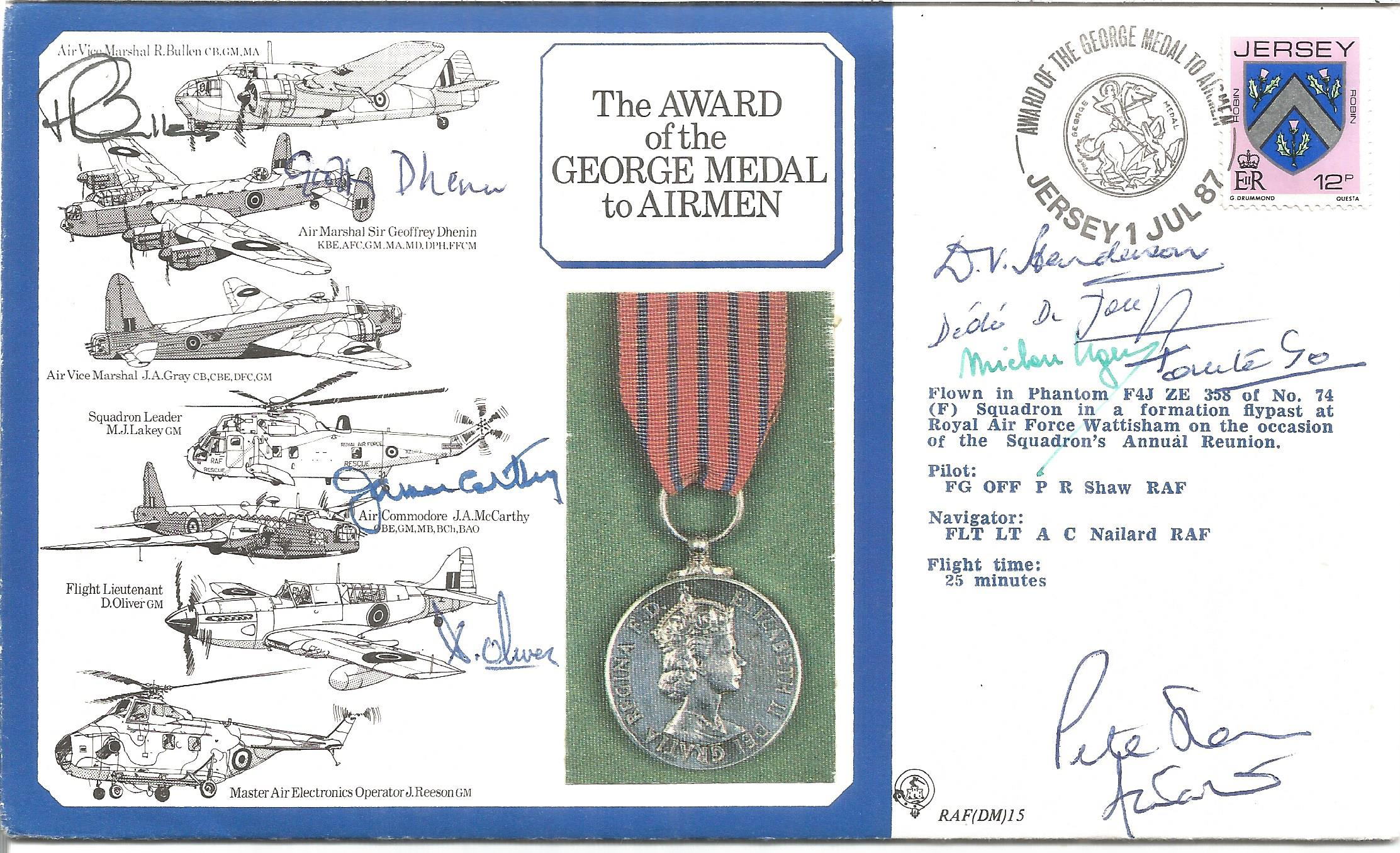 WW2 resistance VIPS multiple signed cover. Inc Dedee, Michou Ugeux. Tanto Go, Mjr D Henderson GM,