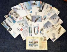 RAF collection 15 signed Battle of Britain etc covers commemorating anniversaries and events