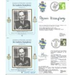 Commanders of the RAF signed collection. Nine very attractive covers comm. Marshalls of the RAF