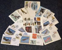 RAF Battle of Britain collection 15 fantastic covers commemorating the 25th and 50th anniversary