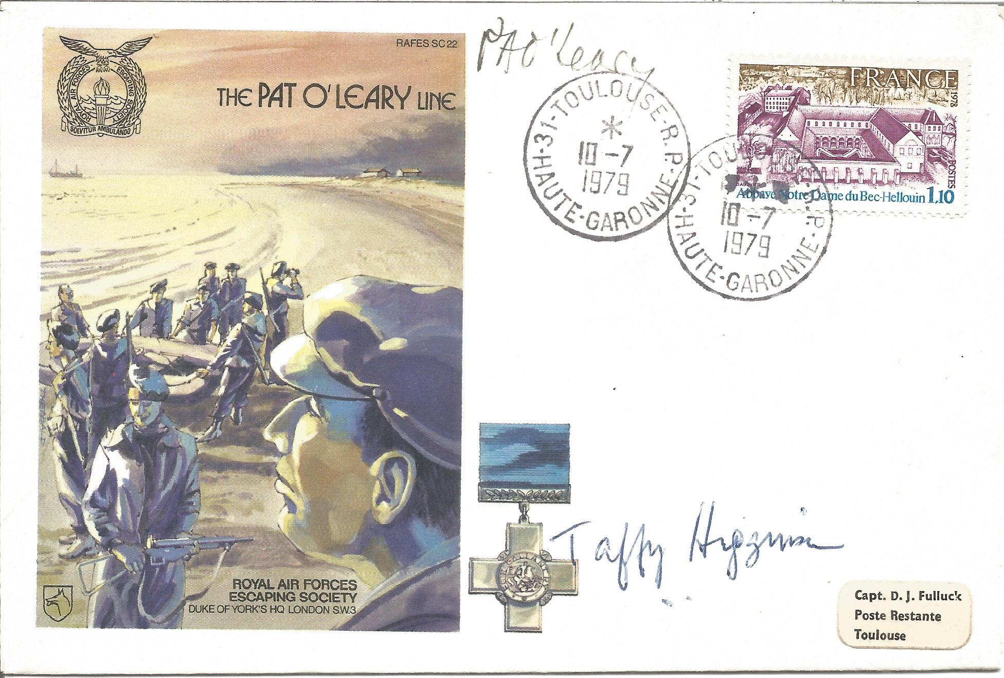 Pat O'Leary and Taffy Higginson signed The Pat O'Leary Line Cover No. 20 of 1060. Flown in