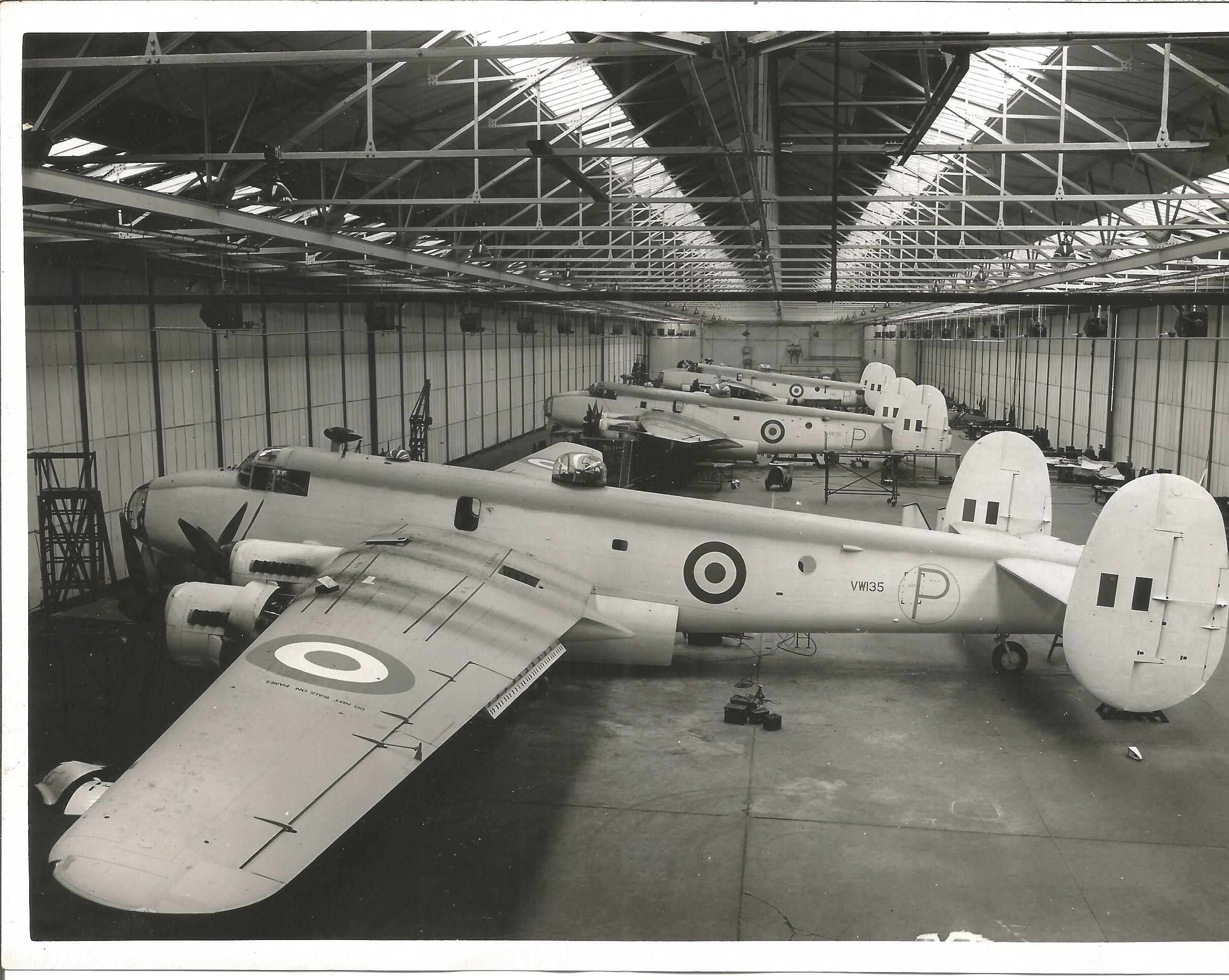 Aviation Shackleton collection includes to original 9x7 black and white photos dated 11. 5. 49 and a - Image 3 of 3