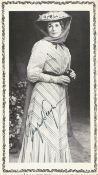 Actress Ingrid Bergman signed photo page inside vintage Cambridge theatre programme
