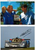 Mark Webber Motor Racing signed photo collection