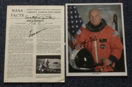 Astronaut Space signed collection Glenn Carpenter Borman Cooper