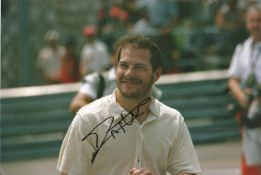 Motor Racing Jacques Villeneuve signed 12x8 colour photo of the 1997 Formula One World Champion.