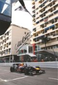 Motor Racing Mark Webber signed 12x8 colour photo pictured driving for Red Bull in Formula One. Good