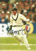Cricket Ian Healy signed 12x8 colour photo. Ian Andrew Healy AO (born 30 April 1964) is an