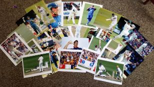 Cricket Collection 33 fantastic 10x8 unsigned colour photos featuring some of Englands great players
