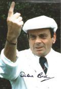 "Cricket Dickie Bird signed 12x8 colour photo. Harold Dennis ""Dickie"" Bird, OBE (born 19 April 1933"