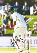 """Cricket Ish Sodhi signed 12x8 colour photo. Inderbir Singh """"Ish"""" Sodhi (born 31 October 1992) is a"""