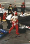 Motor Racing Alessandro Zanardi signed 12x8 colour photo pictured during his time in Formula One.