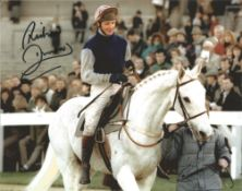 Jockey Richard Dunwoody signed 10x8 colour photo. All autographs come with a Certificate of