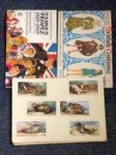 Cigarette card collection. Contains Animals of the countryside, Famous people 1869-1969 and