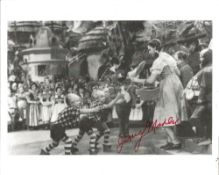 Jerry Maren signed 10x8 b/w photo as a Munchkin the Wizard of Oz. All autographs come with a