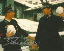 Derren Nesbitt 10x8 signed colour photo pictured while playing Major von Happen in Where Eagles Dare