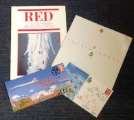 Red Arrows collection. Includes 2 covers one signed by Lyn Johnson. Also comes with 2 brochures. All