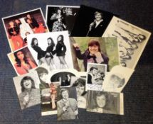 Assorted TV/Film music signed collection. 12 in total. Some may be printed, damaged or dedicated.