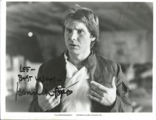 Harrison Ford signed Empire Strikes Back 10 x 8 inch b/w photo.