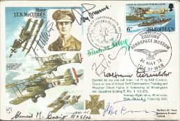 Adolf Galland, Friedrich Lang, Clement M. Craig, Wolfrum Eisenlohr, Irwin Fischer, Flt Lt R.J.
