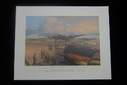 Robert Taylor Band of Brothers RAF Bomber Command Edition signed by 10 WW2 RAF Bomber Command