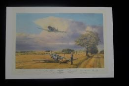 RARE Robert Taylor Summer Victory Presentation Copy signed by 13 WW2 RAF Battle of Britain veterans.