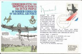 Prince Bernhard of the Netherlands signed Commemorating the Dropping of Food to the Dutch People