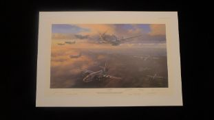 Nicolas Trudgian D-Day Armada D-Day Anniversary Edition signed by 8 USAAF pilots who all flew in