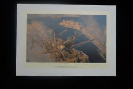 Robert Taylor Malta George Cross Malta Edition signed by 9 pilots who fought in the historic WW2