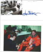 Space signed collection. 5 items. Mainly signature pieces. Includes Eugene Krantz, Michael Foale,