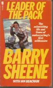 Barry Sheene signed Leader of the pack paperback book. Signed on inside title page. All autographs