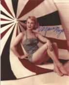Virginia Mayo signed 10x8 colour photo. All autographs come with a Certificate of Authenticity. We