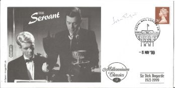 Sir John Gielgud signed Millennium Classics FDC. All autographs come with a Certificate of