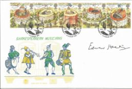 Edward Heath signed Shakespearean Musicians FDC. All autographs come with a Certificate of