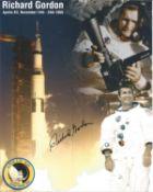 Space Astronaut Richard Gordon signed 10x8 colour montage photo. All autographs come with a