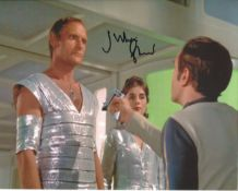 Space 1999. Nice 8x10 photo from Space 1999, signed by actor Julian Glover. All autographs come with