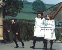 Sally Thomsett 8x10 photo signed by actress Sally Thomsett in a scene from The Railway Children. All