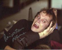 Dracula. 8x10 photo from the Hammer Horror movie Dracula AD1972 signed by actor Christopher Neame.