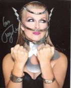 Toyah. Nice 8x10 photo signed by pop star and Quadrophenia actress Toyah Wilcox. All autographs come