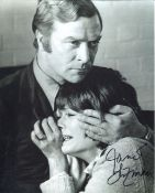 The Black Windmill. 8x10 photo from the 1960's spy thriller The Black Windmill signed by actress