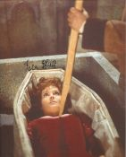 Hammer Horror. Dracula 8x10 horror movie photo signed by actress Isla Blair. All autographs come