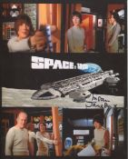 Space 1999 nice 8x10 photo signed by actress Susan Jameson. All autographs come with a Certificate